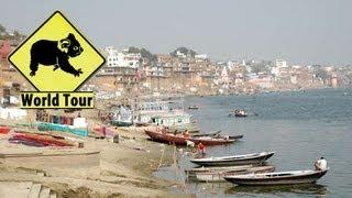 Inde │Voyage Tour Du Monde ► Varanasi, La vie et la mort HD