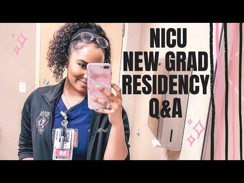 NICU New Grad Nurse Residency Q&A