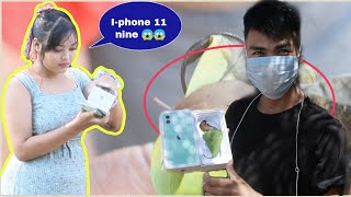 FAKE I-PHONE 11 DELIVERY PRANK / SPECIAL 80k GIVE-AWAY / I AM RB,