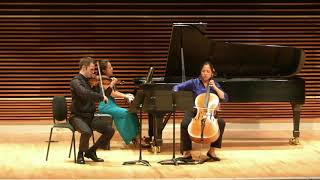 Mendelssohn Trio in C Minor, Mvt. IV