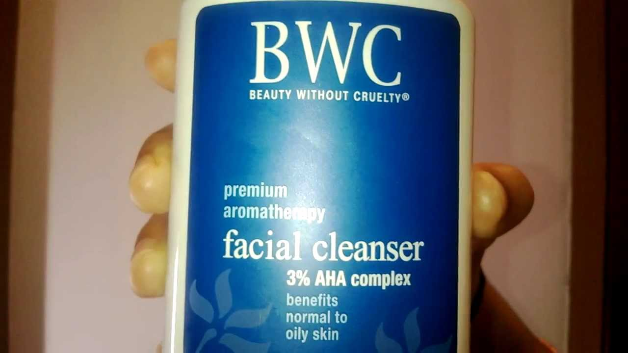 Bwc facial cleanser