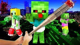 Realistic Minecraft - ZOMBIE APOCALYPSE!
