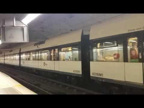 """Produccions """"I Like Trains"""" - Observacions a l'estació de MetroValencia """"Beniferri"""" (L1 i L2)"""