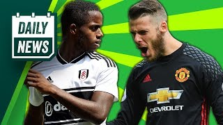 David De Gea Extends Stay With Manchester United + Sessegnon Saga Continues ► Daily Football News