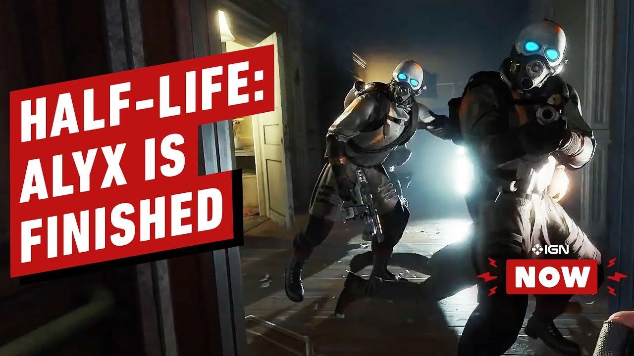 Half-Life: Alyx Devs bestätigen, dass das Spiel fertig ist - IGN Now + video