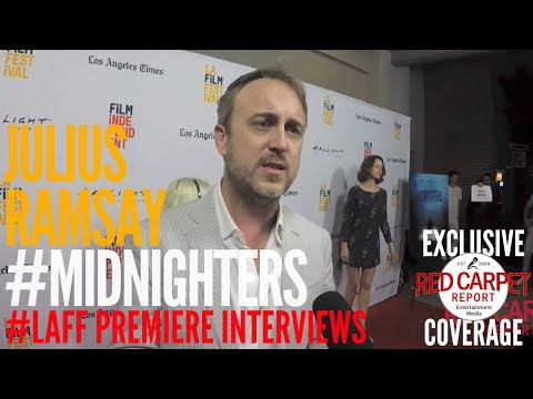 Julius Ramsay Director ed at Premiere of Midnighters at Los Angeles Film Festival