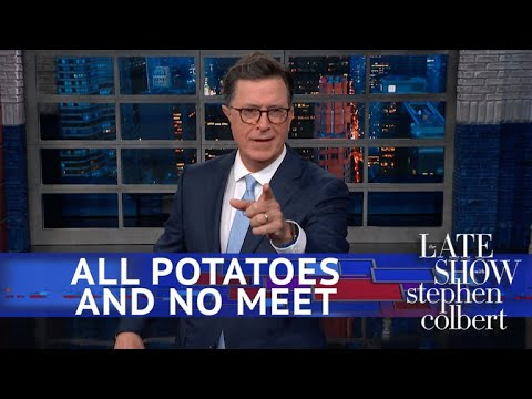 Stephen Colbert vs. Kim Jong Un Chose A Potato Farm Over Mike Pompeo