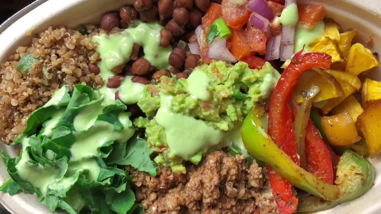 Electric Alkaline Vegan Chipotle Bowl Made With Dr Sebi