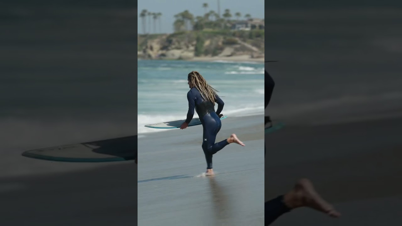 Skimboarding backside wrap a few days ago! New video coming soon!