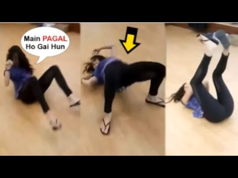 Shraddha Kapoor Acting Like A MENTAL During Dance Rehearsal For Street Dance Movie
