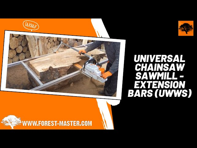 Universal Chainsaw Sawmill - Extension Bars (UWWS)