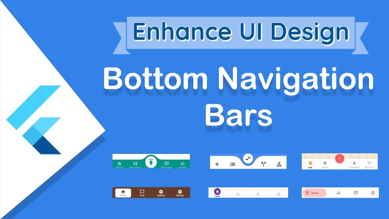 Bottom Navigation Bars Enhance UI Design with Beautiful Flutter Packages