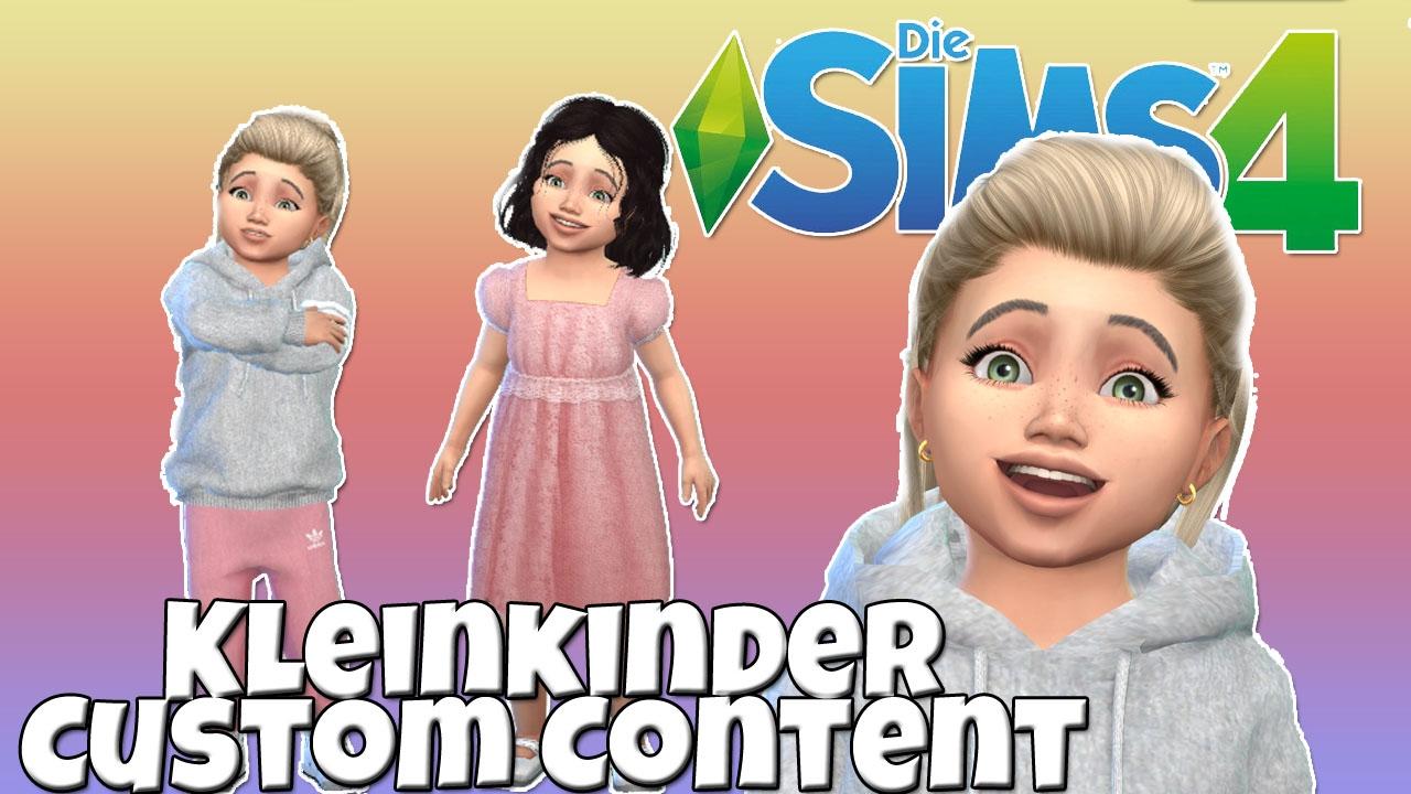Custom Content Für Kleinkinder In Die Sims 4 Cc Haul Youtube