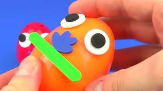 Surprise Eggs Toys Kids Children LEGO Kinder Surprise FUNNY FACES