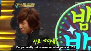 [ENG SUB] Daesung interrogate TOP in Night after Night