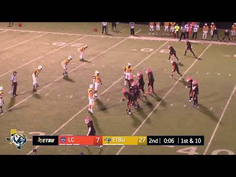 @ETBU_Football – Highlights vs. Louisiana College (Oct. 20, 2018)