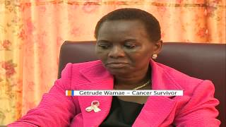 Your Story: Gertrude Wamae  Bone Cancer Survivor