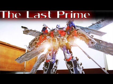 Transformers stop motion:Ultimate Optimus Prime V.S Starscream.柯博文vs天王星