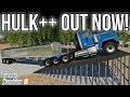 NEW MODS FS19! Hulk++, Fasterlift, 2 HUGE Maps, & Lots More!