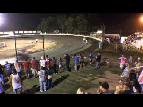 Austin Lambert 7/11/15 Outlaw A Main Win . @ Port City Raceway