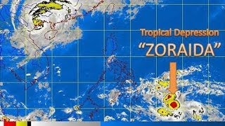 11/10/2013 -- Microwave beam forms Tropical Storm 'Zoraida' - rotation begins upon pulse