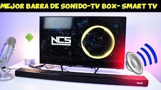LA MEJOR BARRA DE SONIDO PARA TV BOX Y SMART TV