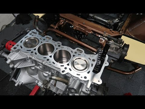 Building a better SR20DET Pt. 1