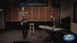 Death Cab for Cutie - Your Heart is an Empty Room (Live on KFOG Radio)