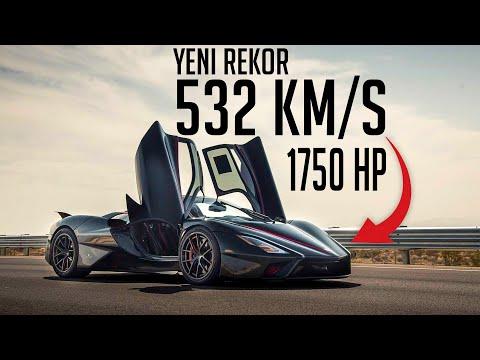 SSC TUATARA 532km/s   Şimdi Bugatti ve Koenigsegg Düşünsün