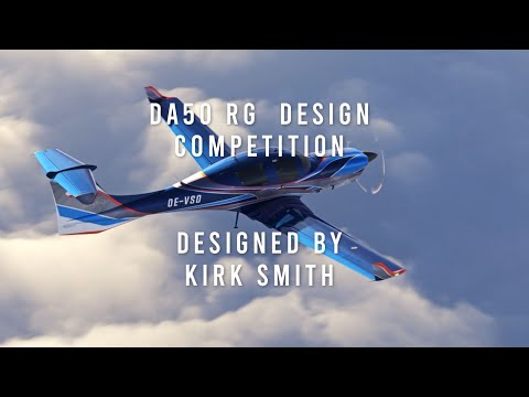 Diamond Aircraft DA50 RG - Exterior Design Development