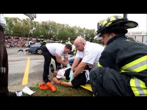 Chelmsford High School Mock Crash