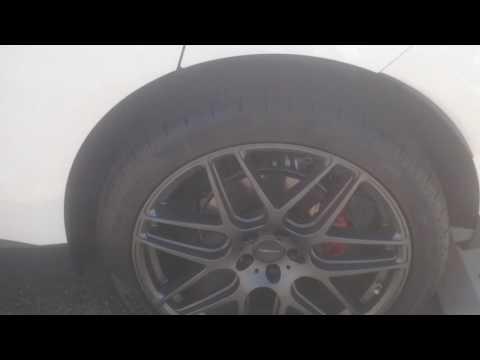 "Jaguar F-Pace 22"" Rims runs and smoked lights ACE RIMS Pirelli 265/40/22 Tires"