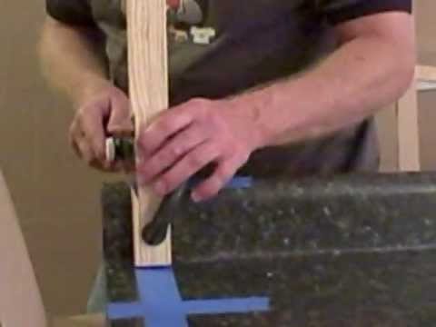 Cutting Laminate Countertop Using A Anese Pull Saw