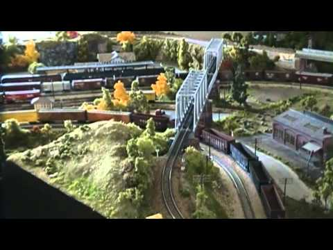 N scale Model Train Layout  N gauge
