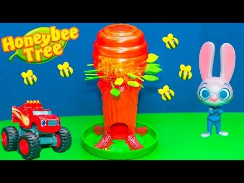 Family Fun Game for kids Honey Bee Tree...
