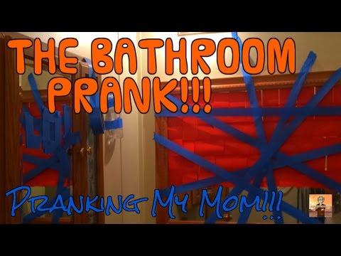 THE ULTIMATE PRANK ON MOMMA (The Bathroom Decoration Prank) (CM40 Vlog)