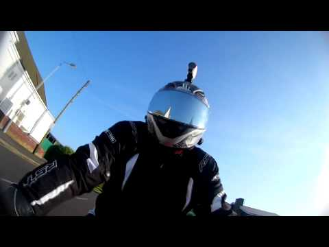 2018 KTM rc 125 Skegness to Gibraltar point &  youtube rant