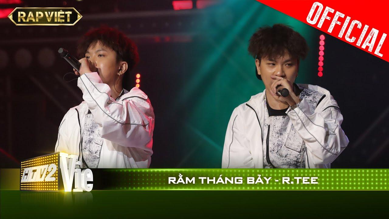 Đem hát xẩm vào rap, R.Tee gây chấn động vì bản rap rợn người Rằm Tháng 7   RAP VIỆT [Live Stage]