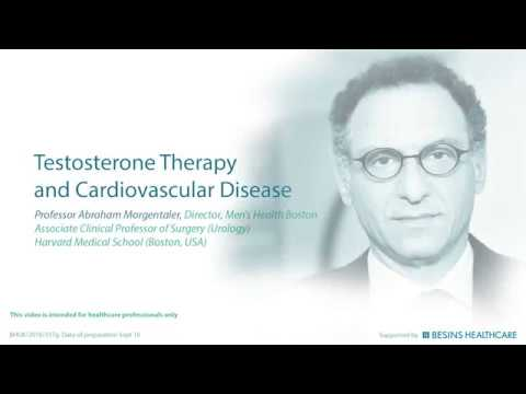 Testosterone Therapy and Cardiovascular Disease By Dr. Morgentaler