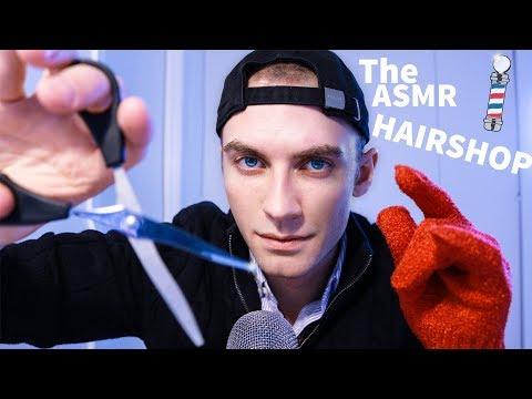 (ASMR HAIRCUT ASMR) The ASMR Hairshop Roleplay | Dalton Does ASMR - Male Voice