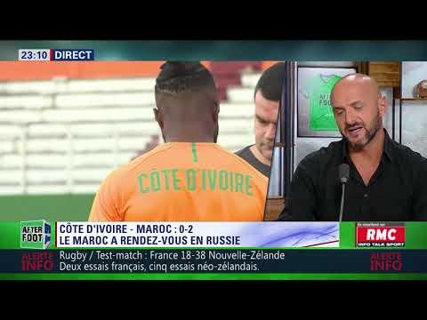 After Foot du samedi 11/11 – Partie 1/3 - Débrief de Côte d'Ivoire/Maroc (0-2)