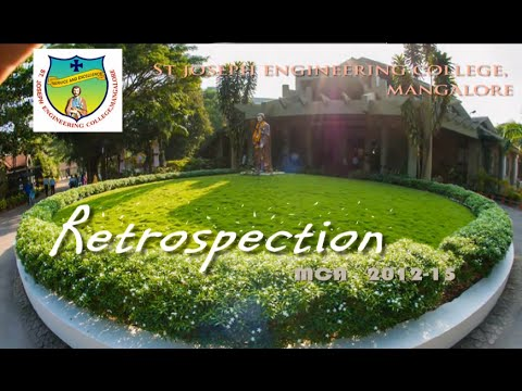 Retrospection MCA 2012-15 Farewell Day Video Presentation, SJEC Mangalore