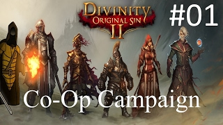 Divinity Original Sin 2 Gameplay Let S Play 1 Co Op Campaign Early Access W Game KNight