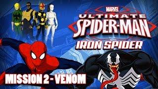 Ultimate Spider-Man: Iron Spider (Mission 2 Gameplay) VENOM