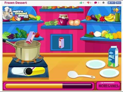 Frozen Dessert - MiniGames Free Online Games