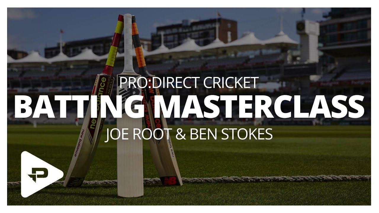 Pro Direct Batting Masterclass At Lord S With Joe Root And Ben Stokes