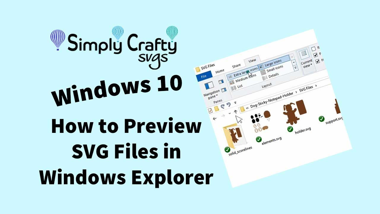 How to Preview SVG Files in Windows Explorer