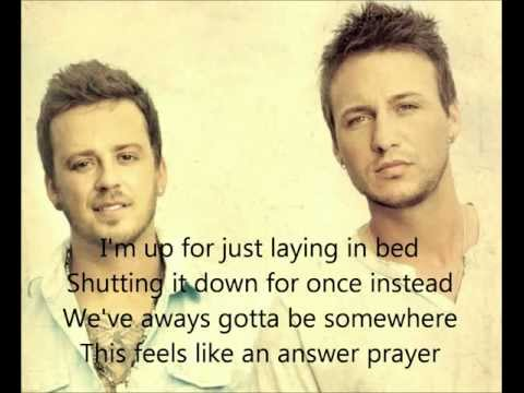 Love and Theft - Amen with Lyrics