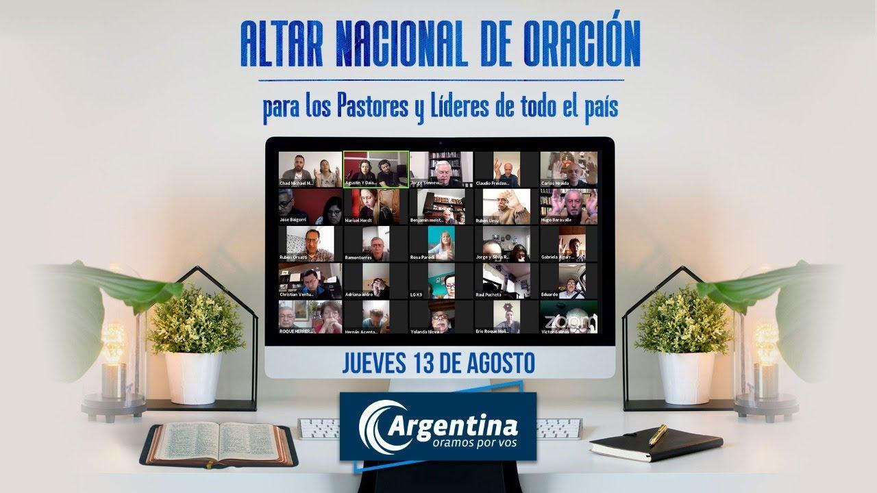 Altar Nacional de Oración | Jueves 13 de agosto 2020