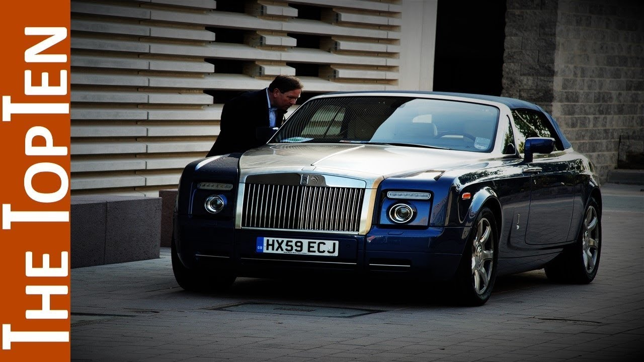 the top ten most expensive rolls royce cars youtube. Black Bedroom Furniture Sets. Home Design Ideas